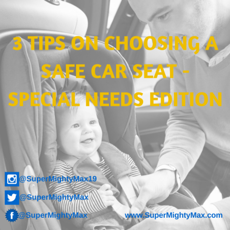 3 tips on choosing a safe car seat - special