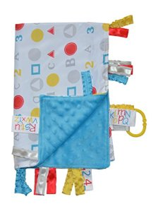 Sensory Ribbon Tag Blanket